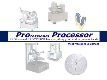Commercial Meat Processing Equipment | ProProcessor.com