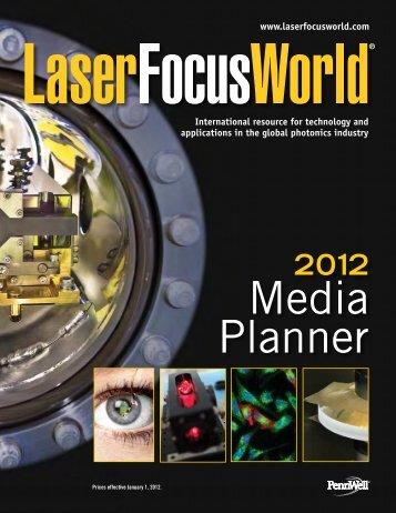 2012 Editorial Calendar - Laser Focus World