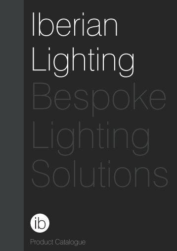 Iberian Lighting product catalogue