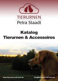 Katalog - Tierurnen & Accessoires