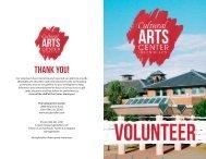Arts Glen Allen Volunteer Brochure