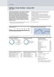 Raiffeisen Fonds Portfolio - Actions EUR