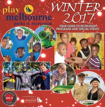 Play Melbourne: Parks & Recreation - Winter 2017