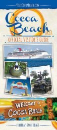 2016 Cocoa Beach Visitor's Guide