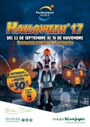Catálogo PortAventura Halloween del 23 de Sptiembre al 19 Noviembre 2017