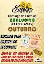 Catálogo Escolar Fidelidade (Plano Family) - Outubro 2017