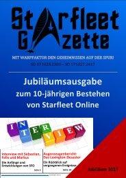 Starfleet-Gazette, Jubiläumsausgabe 2017 (10 Jahre SFO)