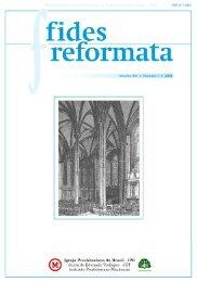 Fides 13 N1- Revista do Centro Presbiteriano Andrew Jumper