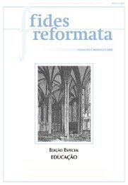 Fides 13 N2 - Revista do Centro Presbiteriano Andrew Jumper