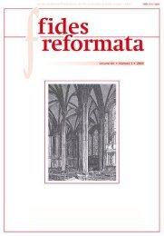 Fides 15 N1 - Revista do Centro Presbiteriano Andrew Jumper