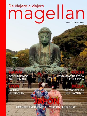 Revista de viajes Magellan - Abril 2017