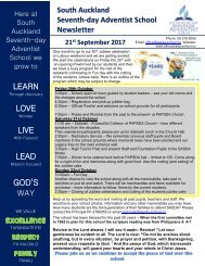 Week 9 Term 3 2017 newsletter