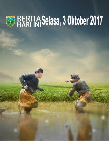 e-Kliping Selasa, 3 Oktober 2017