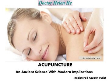 Acupuncture Practitioners Hong Kong