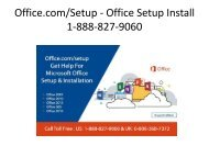 Office.com/Setup - Office com Setup Install  1-888-827-9060
