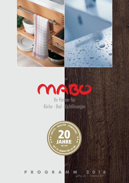 MABO Händlerkatalog 2018 Web Version