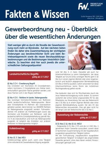 FW-Überblick über die Änderungen in der Gewerbeordnung-Sept2017