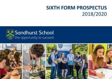 Sixth Form Prospectus 2018