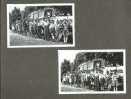 Alte Ansichten - 4. Klasse VS St. Stefan - Schulausflug mit dem Postautobus 1955