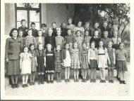 Alte Ansichten - 4. Klasse VS St. Stefan - 1954-1955