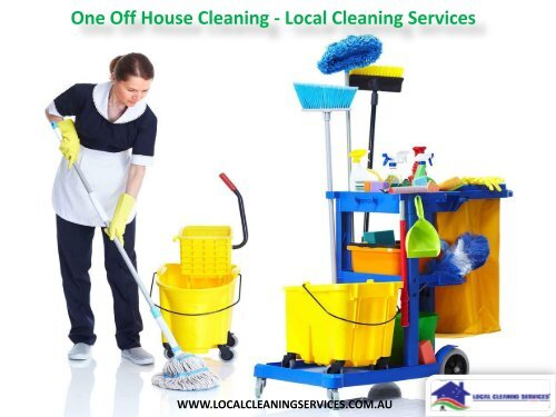 local house cleaning services