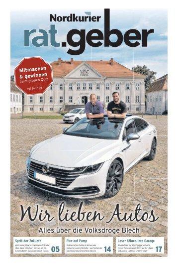 Nordkurier Ratgeber Auto Peene-Müritz