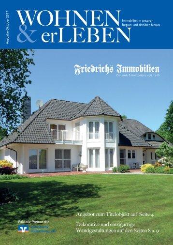 Wohnen & erLeben Ausgabe Oktober 2017