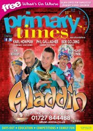 Primary Times Hertfordshire October 17