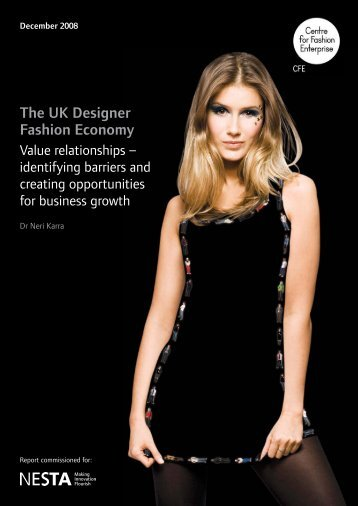 The UK Designer Fashion Economy - Nesta