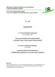 Nr. 139 Tagungsband Wasserwirtschaft und Landwirtschaft – Auf ...