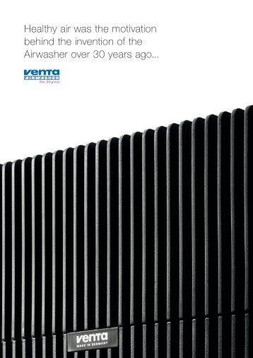 Venta company image brochure (563kB) - Venta Luftwäscher GmbH