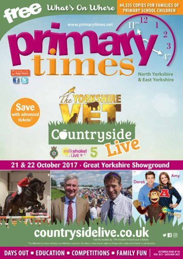 Primary Times North and East Yorkshire Oct 17