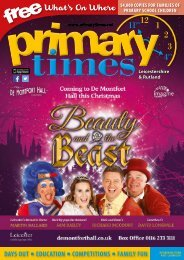 Primary Times Leicestershire Oct 17