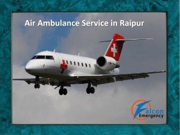 Air Ambulance Service in Raipur