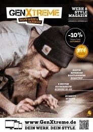 GenXtreme - Werk & Style Magazin 2017 Nr. 3 - Oktober 2017