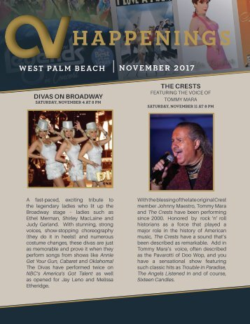 West Palm Beach November 2017 Happenings
