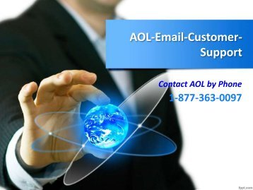 Aol mail customer support phone number 1 877-363-0097