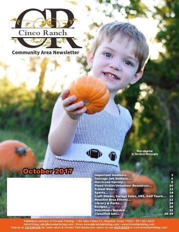 Cinco Ranch 1 October 2017