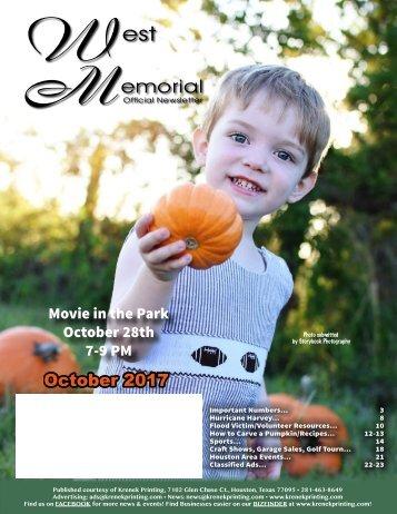 West Memorial October 2017