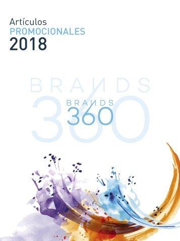 ARTÍCULOS PROMOCIONALES 2018 BRANDS 360