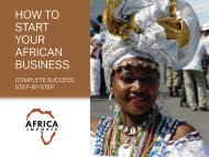 How to Start your African Business