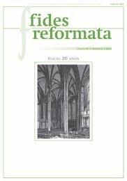 Fides 20 N2 - Revista do Centro Presbiteriano Andrew Jumper