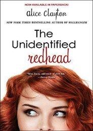 Read [PDF] The Unidentified Redhead (The Redhead Series) Full ePub online