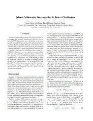 Relaxed Collaborative Representation for Pattern Classification
