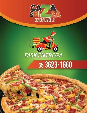 CARDÁPIO CAZA PIZZA