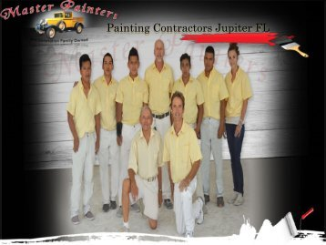 Painting Contractors Jupiter FL