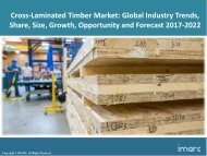 Global Cross-Laminated Timber Market Research, Share, Size and Forecast 2017-2022