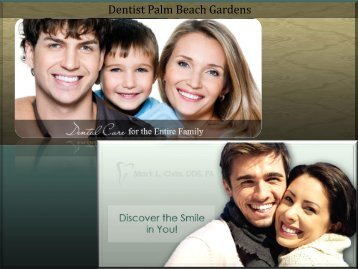 Dentists in Palm Beach Gardens