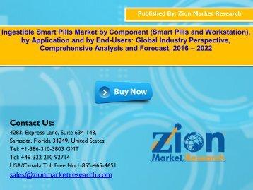 Global Ingestible Smart Pills Market, 2017–2022