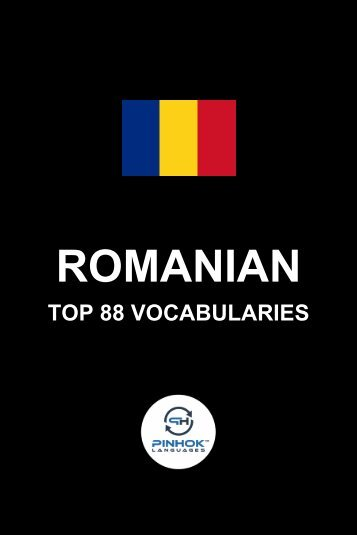 Romanian Top 88 Vocabularies